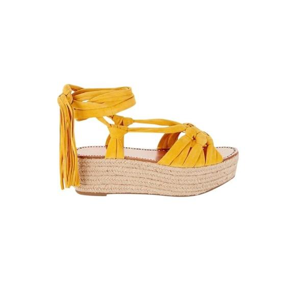 cf26a90d946 Sigerson Morrison Yellow Cosie Sandals